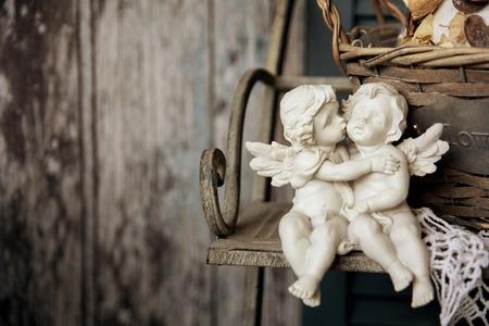 Kussen de engelen